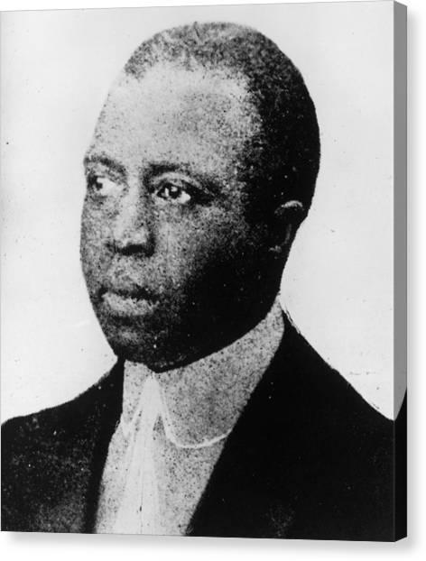 Scott Joplin Canvas Print by Hulton Archive