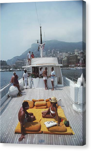 Scottis Yacht Canvas Print