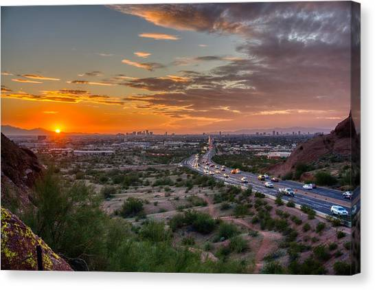 Scottsdale Sunset Canvas Print