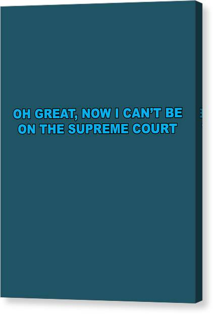 Scotus Canvas Print