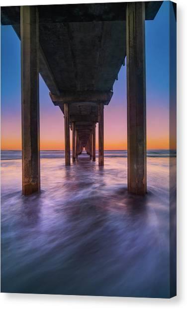 Scripps Pier - 2 Canvas Print