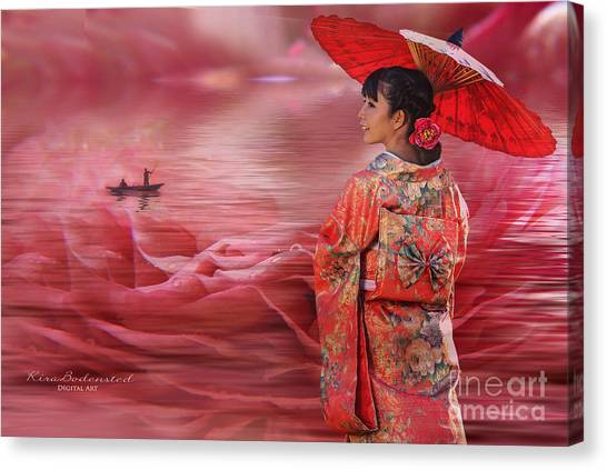 Sea Of Roses Canvas Print