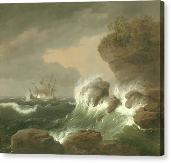 Seascape, 1835 Canvas Print