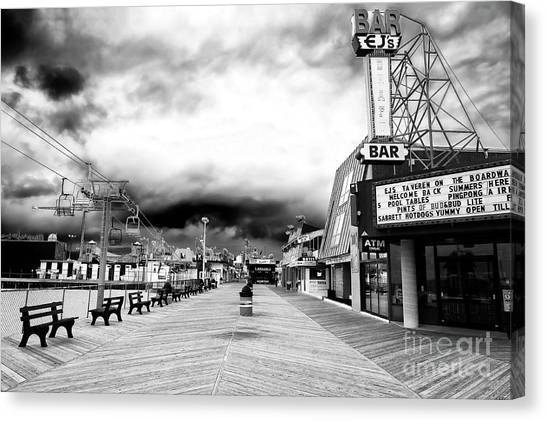 Seaside Heights Before The Crowds Canvas Print