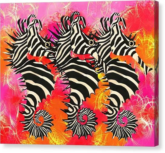 Seazebra Digital11 Canvas Print