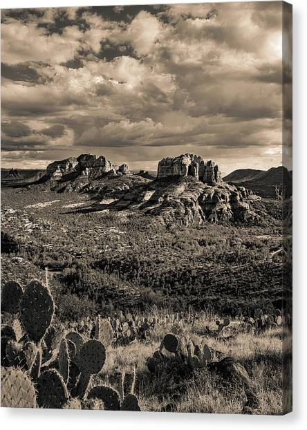 Sedona - View From The Airport Trail 2 Canvas Print