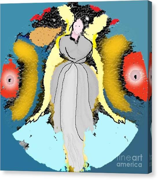 Seeing Angels Canvas Print