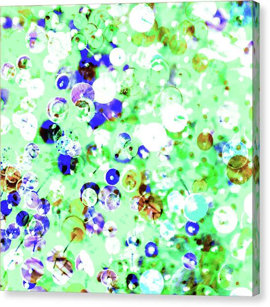 Sequins And Pins 1 Canvas Print