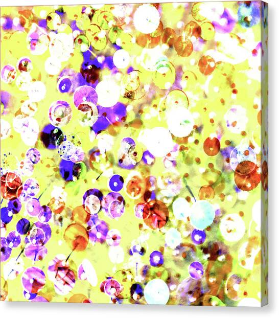 Sequins And Pins 2 Canvas Print