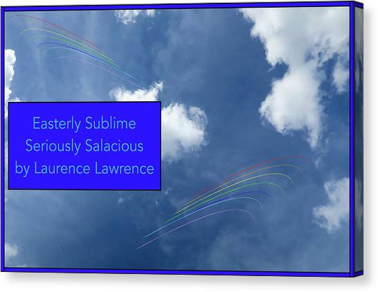 Canvas Print - Seriously Salacious Bn by Laurence Lawrence
