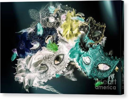 Masquerade Canvas Print - Setting The Drama by Jorgo Photography - Wall Art Gallery