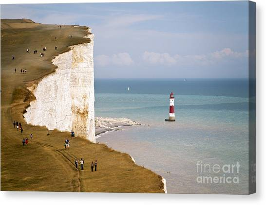 Tides Canvas Print - Seven Sisters National Park, View Of by Niepo