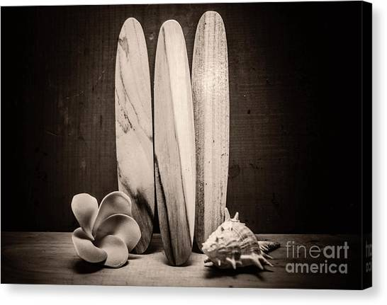 Surfboard Canvas Print - Seventies Surfing by Jorgo Photography - Wall Art Gallery