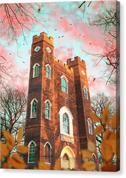 Severndroog Castle Canvas Print