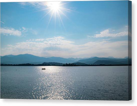 Shadow Mountain Lake Canvas Print