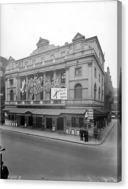 Shaftesbury Theatre Canvas Print by Topical Press Agency