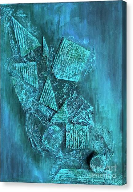 Shapescape Canvas Print