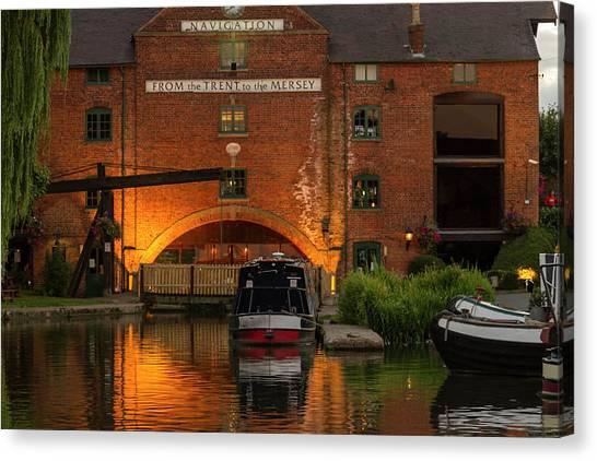 Shardlow Wharf Canvas Print