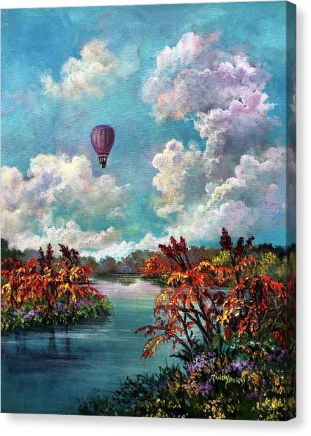 Sharing The Vision Canvas Print