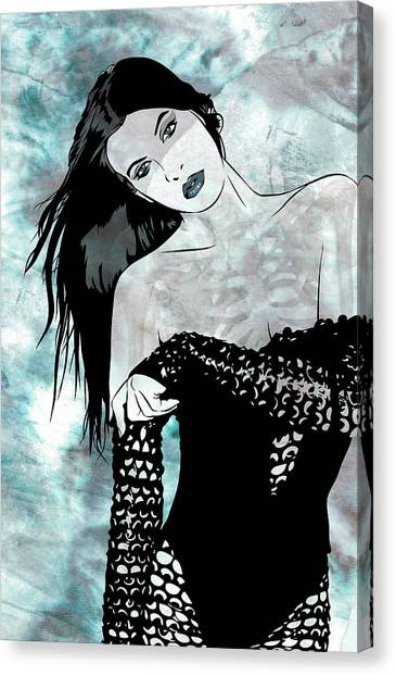 Sheer Canvas Print