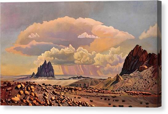 Shiprock Vista Canvas Print