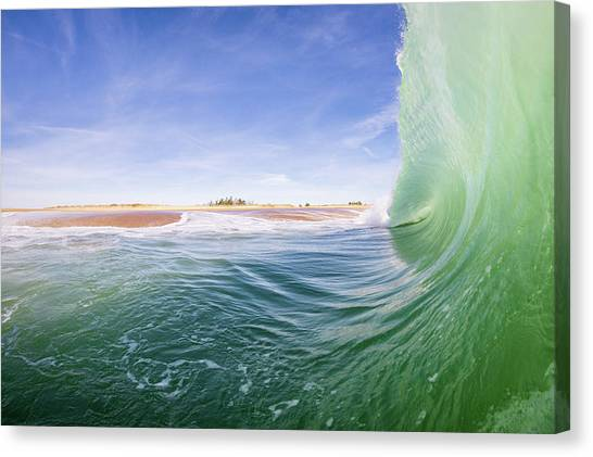 Shorebreak Canvas Print