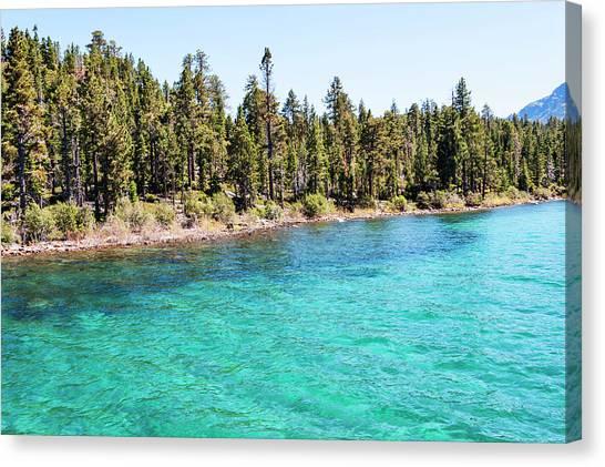 Shoreline Emerald Bay Canvas Print