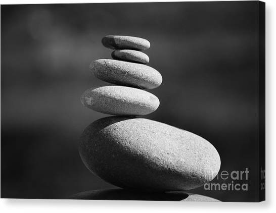 Canvas Print featuring the photograph Short Stack 2 by Jeni Gray