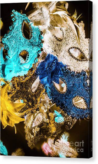 Masquerade Canvas Print - Showgirl Stagecraft by Jorgo Photography - Wall Art Gallery
