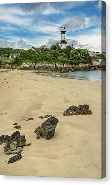 Shroove Lighthouse Canvas Print