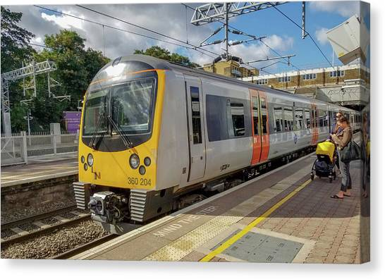 Siemens Mobility 360 Desiro Heathrow Connect Train Canvas Print