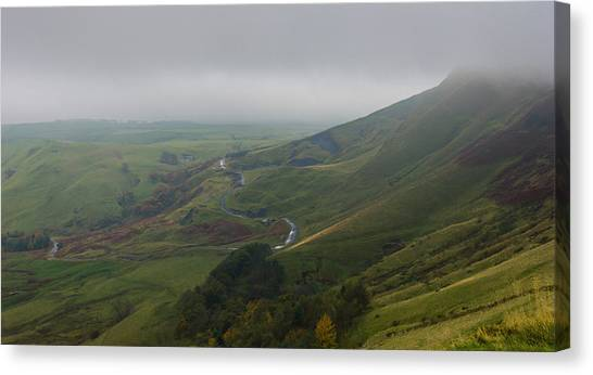Shivering Mountain,  Canvas Print