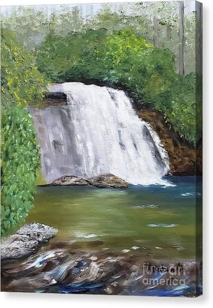 Silver Run Falls Canvas Print