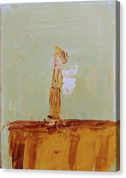 Simply Sweet Angel Boy Canvas Print