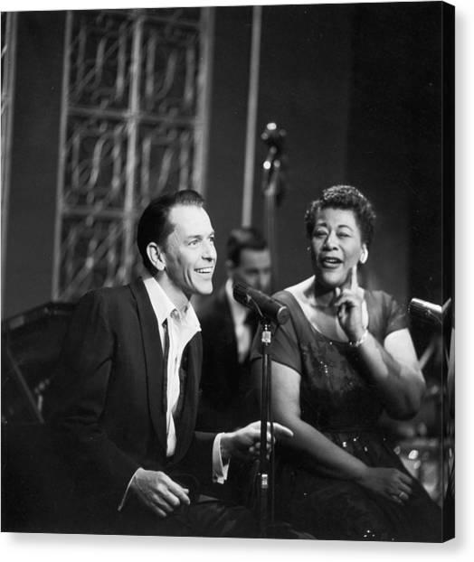 Sinatra & Fitzgerald Canvas Print