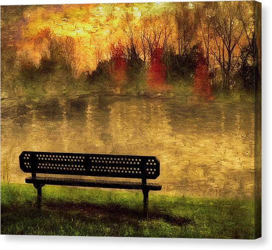 Sit And Admire Canvas Print