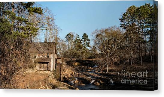 Sixes Mill Canvas Print by Elijah Knight