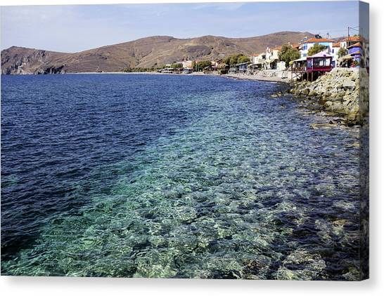 Skala Erresos, Mytilini, Greece Canvas Print