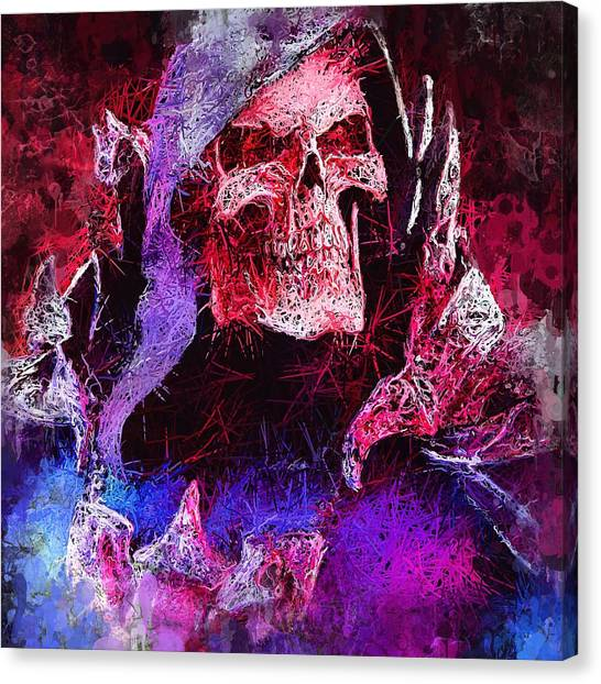 Skeletor Canvas Print