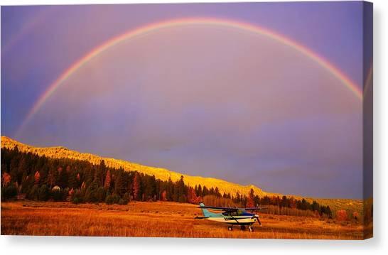 Skylane Rainbow Canvas Print