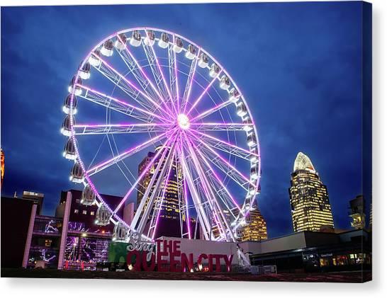 Skystar Ferris Wheel Canvas Print