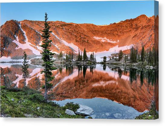 Altitude Canvas Print - Skytop Sunrise by Leland D Howard