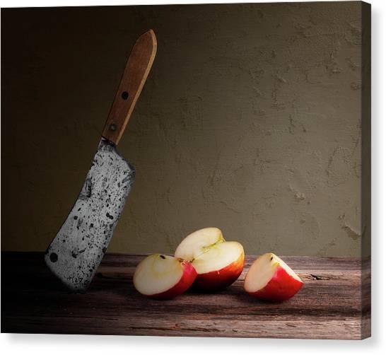 Kitchen Utensils Canvas Print - Slice And Dice by Tom Mc Nemar