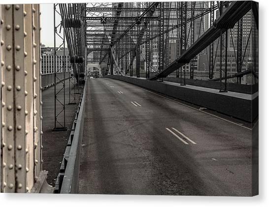 Smithfield Street Bridge Canvas Print