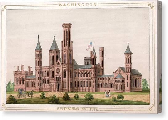 Smithsonian Institute Canvas Print by Hulton Archive
