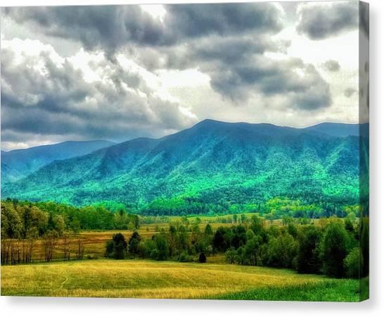 Smoky Mountain Farm Land Canvas Print