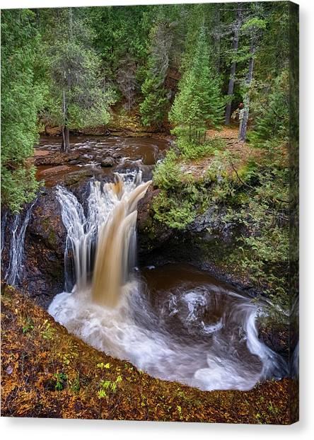 Snake Pit Falls Canvas Print