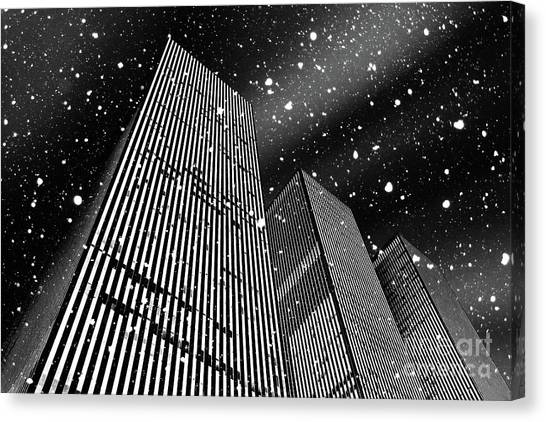 Winter Canvas Print - Snow Collection Set 03 by Az Jackson