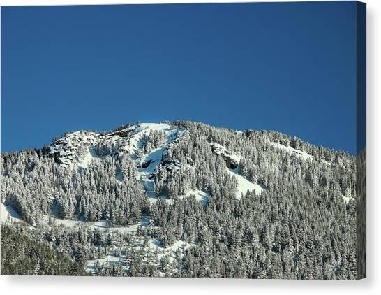 Centennial Canvas Print - Snowy Mount by Todd Klassy