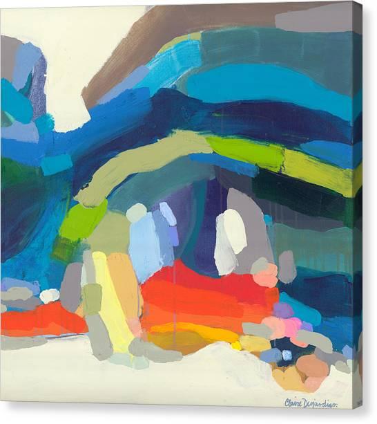 Canvas Print - Socialite by Claire Desjardins